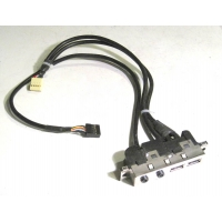 Panel puertos USB/audio HP Compaq DX5150 SFF con cableado 4N639-004