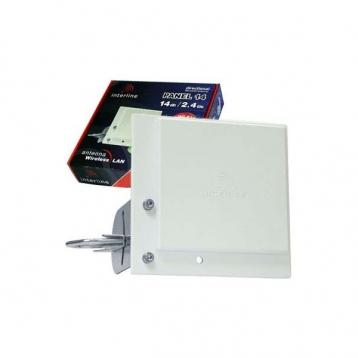 Antena wifi panel 2.4GHz Interline 14dBi 4xRange