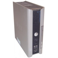 DELL Optiplex SX280 CPU mini Pentium 4 3.0Ghz, 1GB, 160-200Gb, Windows XP COA + Fuente DA-2