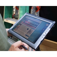 "Tablet PC portátil Motion Computing LE 1700 intel U1400 2GB 30GB 12,1"" tactil"