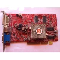 ATI/AMD Radeon 9550 256MB SDRAM 128bit AGP8x VGA/DVI/SVideo con ventilador