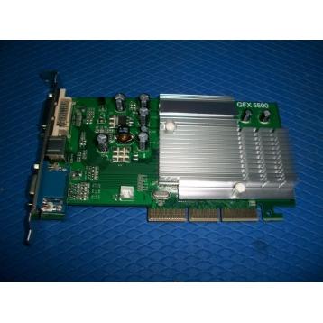 NVIDIA GeForce 6200 256MB DDR2 64bit AGP8x VGA/DVI/SVideo