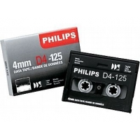 Cinta backup PHILIPS D4-125 4mm DATA TAPE