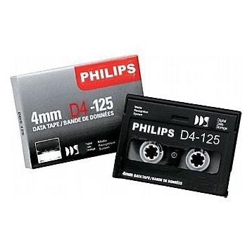 Cinta backup PHILIPS D4-125 4mm DATA TAPE