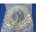 Cable KVM 12 metros VGA + Teclado PS/2 + Raton PS/2 Compaq 127016-003