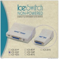 ICE-102P Parallel auto switch / Conmutador automatico Puerto Paralelo DB25M