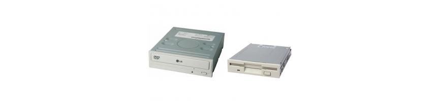 """Unidades de 3,5"""" Disqueteras, ZIP, Backup, Lectores tarjetas y 5,25"""" CD-ROM, DVD-ROM, Grabadoras"""