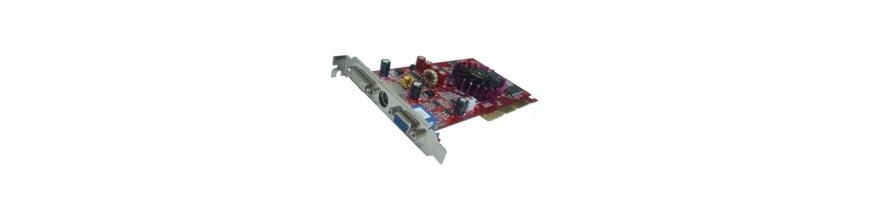 Tarjetas gráficas PCI, AGP, PCI-Express